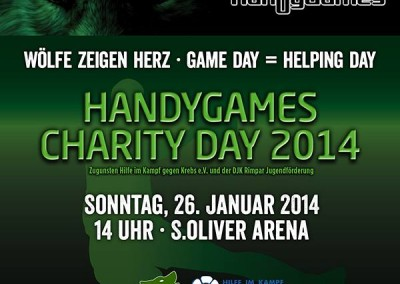 HandyGames Charity Day 2014